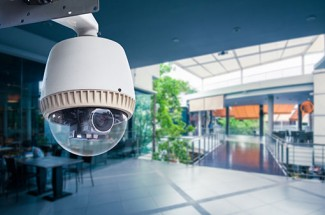 HD CCTV security camera featuring 360-degree view and ideal for retail premises to maximize loss of good prevention