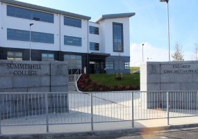 Image of Summerhill College front of the building