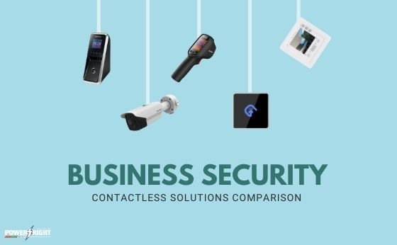 Business Security During COVID19: Contactless Solutions Comparison