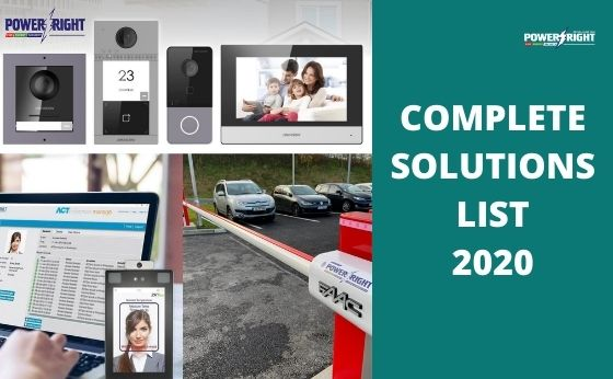A Complete Business Security Solutions List of 2020