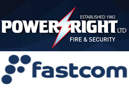 Power Right Ltd. and Fastcom official logos
