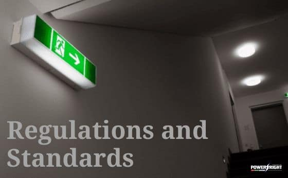 What Are the Regulations and Standards for Emergency Lighting?