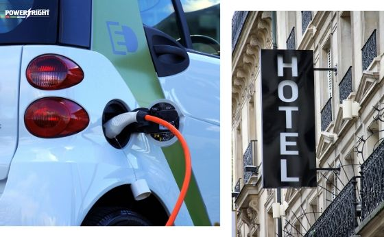 What are the Benefits of EV Charge Points for the Hotel Industry?