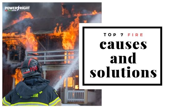 Top 7 Most Common Fire Causes and Prevention Solutions