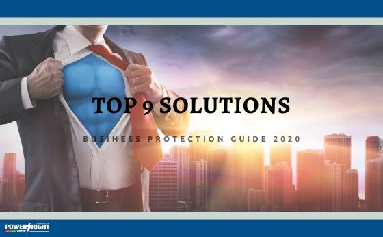 Top 9 Solutions to Protect Your Business in 2020